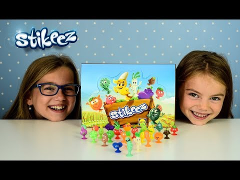 FRUIT vs VEG STIKEEZ Full 24 collection from LIDL Fruit vs Vegetable collection Owoce i Warzywa 2017
