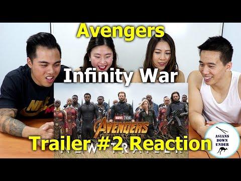 Marvel Studios' Avengers: Infinity War - Official Trailer 2   Reaction - Aussie Asians