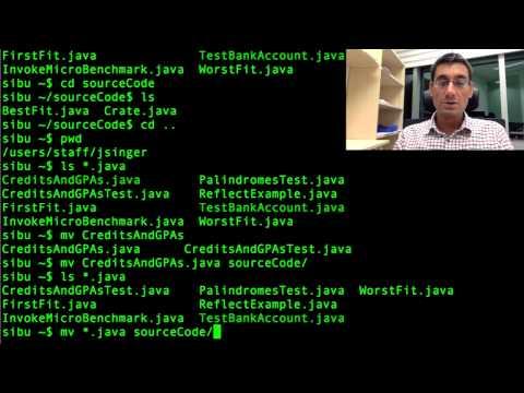 Unix file commands