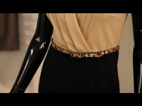 How to Dress a Petite Hourglass Shape : Fashion Advice