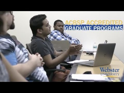 Earn Your Masters Degree at Webster University Orlando
