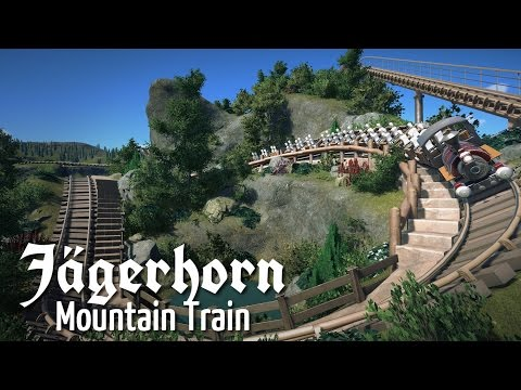 Planet Coaster - Jägerhorn Mountain Train (Part 1) - Coaster Building & Terraforming
