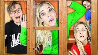 Rebecca Trapped in Last to Leave Hot Sauna Wins Challenge!