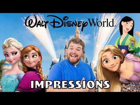 Disney World Impressions - Princess Edition