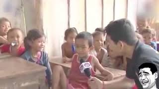 funny khmer student young