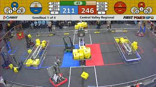 Semifinal 1 - 2018 Central Valley Regional