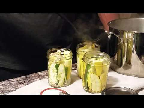 How to pickle squash. Preserving, canning and storing veggies
