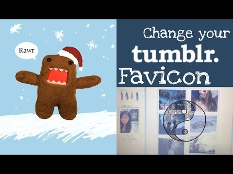 How to change your favicon on tumblr