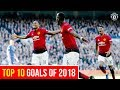 Top 10 Goals Of 2018 Manchester United Best Of 2018