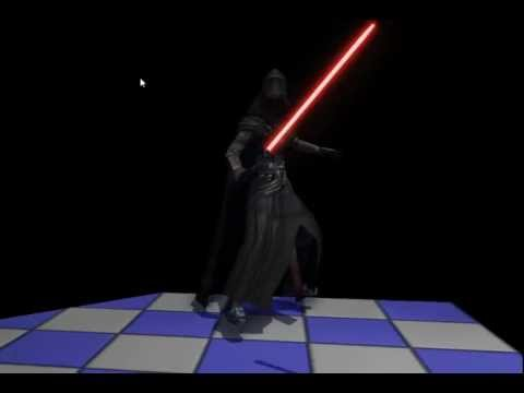 KOTOR III Revan and Lightsaber concept