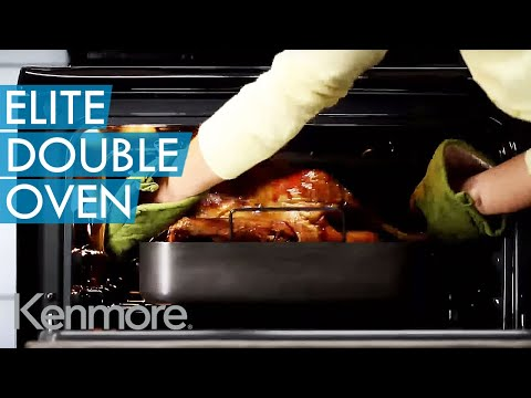 Kenmore Elite Double Oven