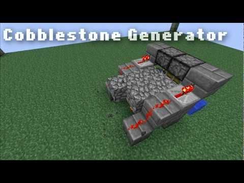 Minecraft: Fastest Cobblestone Generator 1.6 & ALL VERSIONS [OnlineGamingCapital]