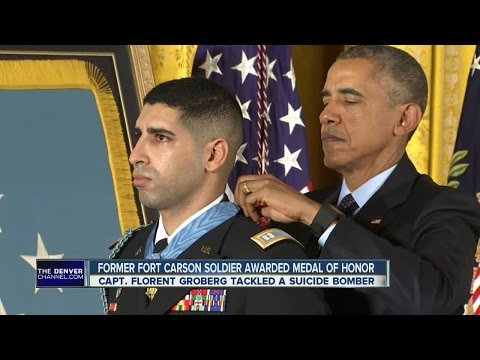 Former Fort Carson soldier awarded Medal of Honor