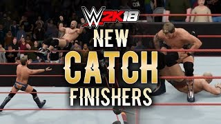 WWE 2K18 - NEW CATCHING FINISHERS! (Concepts / Ideas)