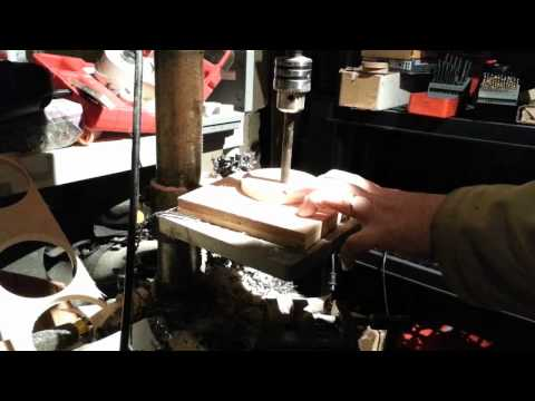 using the drill press as an arbor press