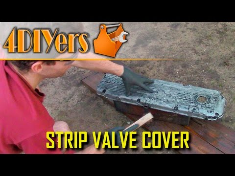 DIY: How to Strip Paint on a Valve Cover