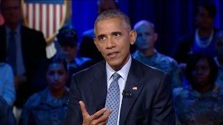 Obama discusses Kaepernick