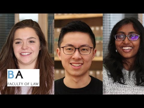 Law students reflect on their interviews