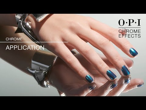 OPI Chrome Effects | GelColor Application How-To