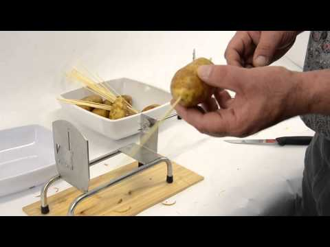 How to Make Tornado/Spiral Potato, Chips, or Curly Fries by Omcan Inc.