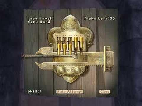 Oblivion - Master Locksmith :)