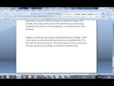 Argumentative Essay Example