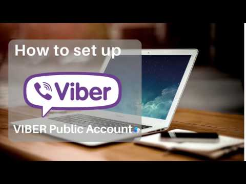 How to set up Viber Public Account