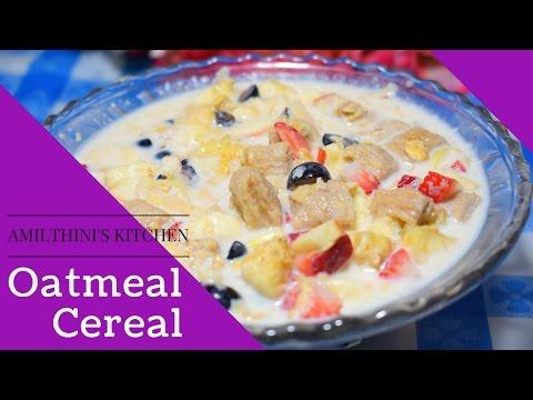 Oatmeal Cereal for breakfast /  Breakfast Cereal / Hot Cereal / Oats Porridge / Yavalu Cereal