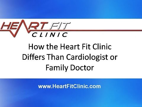How the Heart Fit Clinic Differs Than Cardiologist or Family Doctor