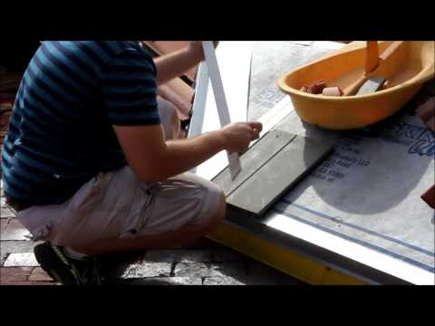 How to cut roof tile with a HYTILE roof tile cutter