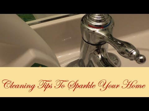 Cleaning Tips To Sparkle Your Home