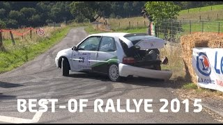 Best Of Rallye 2015 [HD] (Crash, Show & Mistakes)