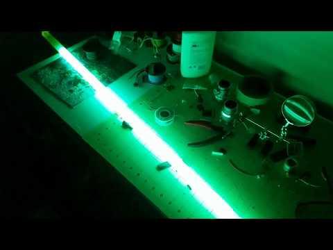 Led Strip/Neopixel Lightsaber Blade Test