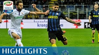 Inter - Fiorentina - 4-2 - Highlights - Giornata 14 - Serie A TIM 2016/17