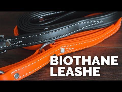 Handmade Biothane Leashes