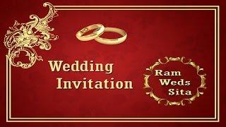 invitation front page design