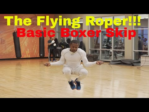 How To Jump Rope Like Mike Tyson (Basic Boxer's Skip) Lesson 1