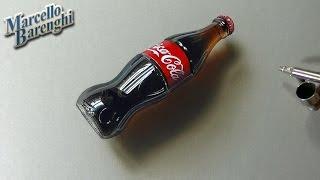 3D Art, Drawing Coca-Cola bottle