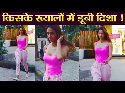 Xxx Mp4 Disha Patani Thinks About Tiger Shroff At Mumbai Streets Check Out FilmiBeat 3gp Sex
