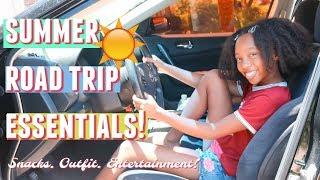 Road Trip Essentials! *SUMMER EDITION!*