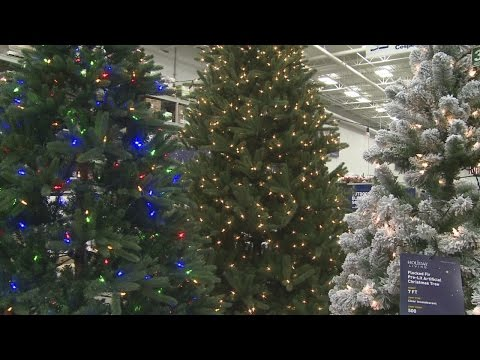 Real or fake? Shoppers speak on the Christmas tree debate