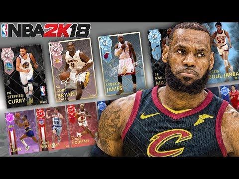 MOST FINALS APPEARANCES DRAFT!!! NBA 2K18 DRAFT MODE!