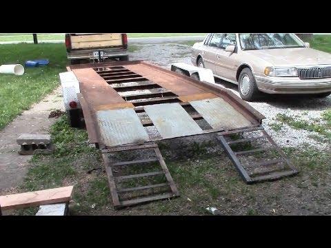 Building Trailer Ramps