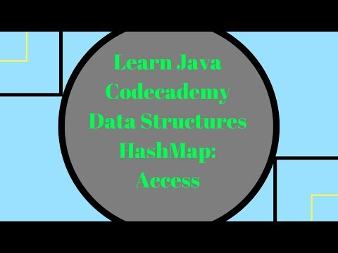 Codecademy Learn Java, HashMap Access, Accessing a HashMap