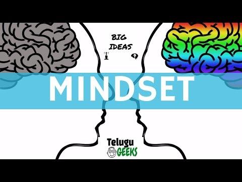 2 Types of mindsets - Big ideas episode 1| in telugu