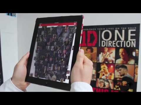 1D: This Is Us Movie Poster | Zappar - Augmented Reality based Entertainment!