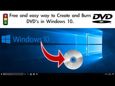 How to create and burn a DVD for free in Windows 10