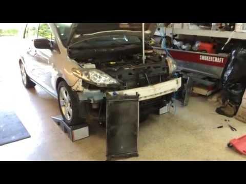 Radiator Replacement 2006 Mazda 5
