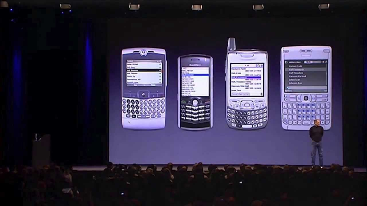 iPhone 1 - Steve Jobs MacWorld keynote in 2007 - Full Presentation, 80 mins