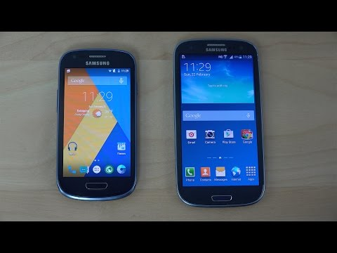 Samsung Galaxy S3 Mini Android 5.0.2 Lollipop vs. Samsung Galaxy S3 Neo 4.4.2 KitKat - Opening Apps